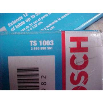Bosch Table Saw Left Side Support Extension TS1003