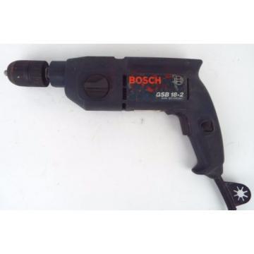 Bosch GSB 18-2 13mm Hammer Drill 2 Speed 600w 110v