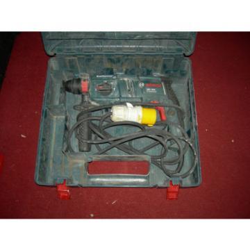 Bosch hammer drill gbh 2000 110v