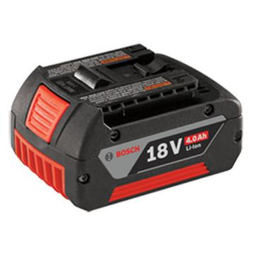 Bosch BAT620 18V Li-Ion 4.0 Ah Battery with Digital Fuel Gauge