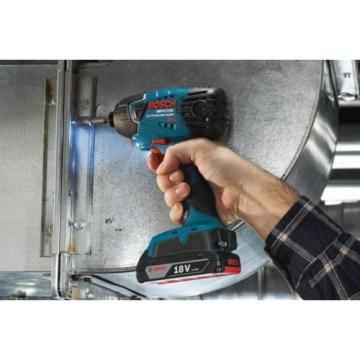 New Home Heavy Duty 18-Volt Lithium-Ion 1/4 in. Hex Cordless Impact Driver
