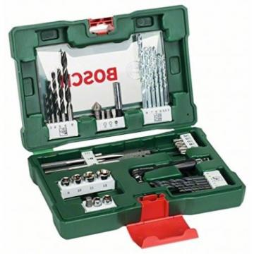 Bosch Drill Bit and Screwdriver Accessory Set with Angle Driver Safe Removal