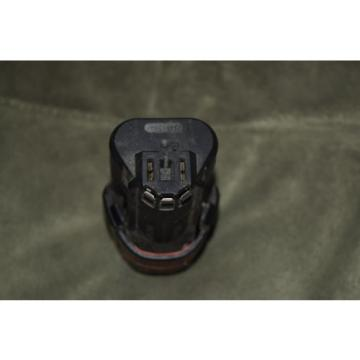 (1) Bosch 12 Volt Cordless Lithium-Ion BAT411 Battery
