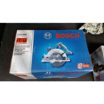 "Bosch 6.5"" Circular Saw CCS180B 18V And SKC181-101 Lithium Ion Starter Kit 18V"