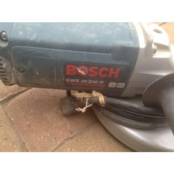 "Angle Grinder 9"" Bosch GWS 20-230 H"