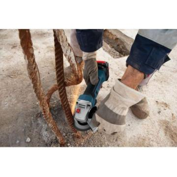 """Bosch 4.5"""" Li-Ion Angle Grinder Cordless Power Tool-ONLY 18V L-BOXX-2 CAG180BL"""