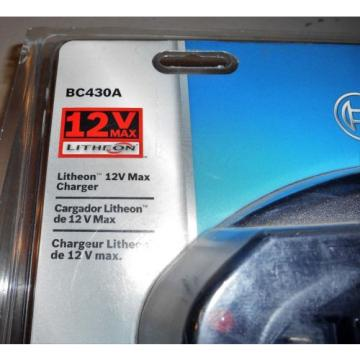 Bosch BC430A 30-Minute Litheon 12V Max Charger - Lithium 10.8V / 12V Sealed