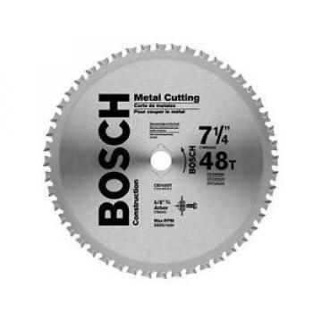"Bosch 7-1/4"" 48-Tooth Metal Cutting Circular Saw Blade CB748ST New"