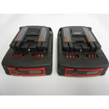 NEW Bosch BAT612 18 V Li-Ion 2.0 Ah Slim Pack Battery (2-pack)