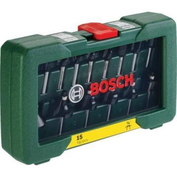 Bosch 15 Piece Router Set