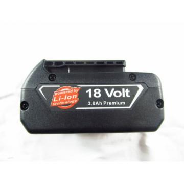 Bosch 18V Battery Litheon Lithium Ion BAT618 BAT609 18 Volt 3000mAh Li-ion