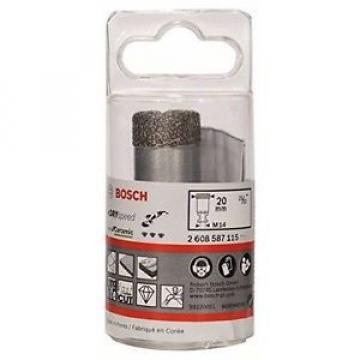 Bosch 5290520 Dry Speed Fresa Diamantata, Diametro 20 mm