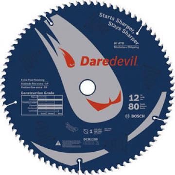 "Bosch Daredevil 12"" 80 Tooth Extra-Fine Circular Saw Blade DCB1280 New"