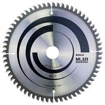Bosch Zubehör 2608640514 Lama per sega circolare per materiali multipli 235 x