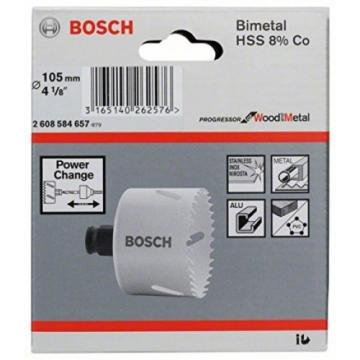 "Bosch 105 mm Progressor Hole Saw ""Free Delivery"""