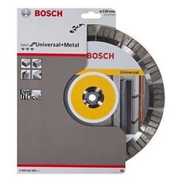 Bosch Best Concrete 2608602665 - Mola diamantata per troncare, 230 x 22,23 mm