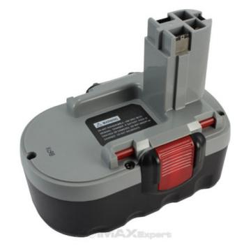 2 Batteries 1 Charger Combo, For Bosch BAT180 with extended Ni-Mh 18V battery