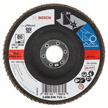 Bosch 2608606715 - Disco Lamellare, Diametro 100 mm, Diametro foro 16 mm, 80 gir