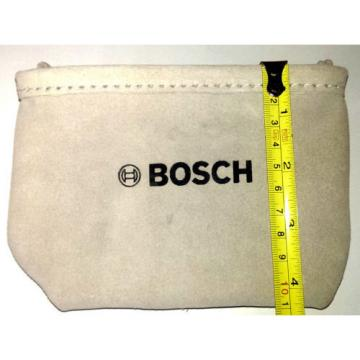 BOSCH  Heavy Duty Beige Suede Leather Nail & Small Tools Pouch BO-039-CN