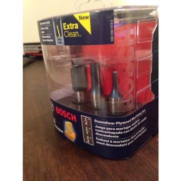"Bosch Downshear Plywood Mortising Set.1/4""  1/2""  3/4""  RBS024SXW"