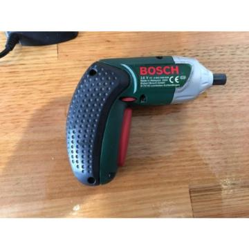 Bosch IXO Cordless Screwdriver - Dock Charger - Portable - Lithium Ion - Used