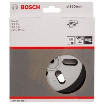 Bosch 2608601051 Sanding Plate for Bosch PEX 15 and PEX 420 - Soft NEW