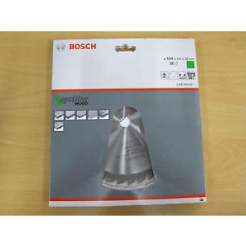 Brand New Bosch 2608640818 184mm x 2.6mm x 16mm Bore Saw Blade - 36 Tooth