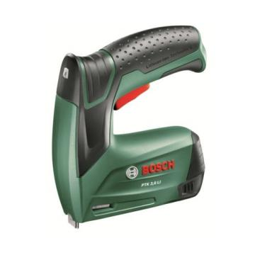 Bosch PTK 3.6 LI Cordless Tacker with Integrated 3.6 V Lithium-Ion Battery