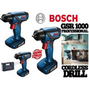 TRAPANO AVVITATORE Bosch GSR 1000 10,8V LI-ION + BATTERIA E CARICABATTERIA