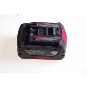 Bosch BAT618 18v 2.6Ah 46.8Wh battery