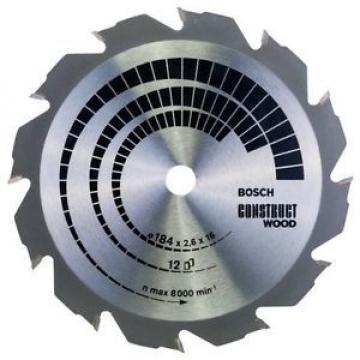 Bosch Zubehör 2608641200 - Lama per sega circolare Construct Wood, 184 x 16 x
