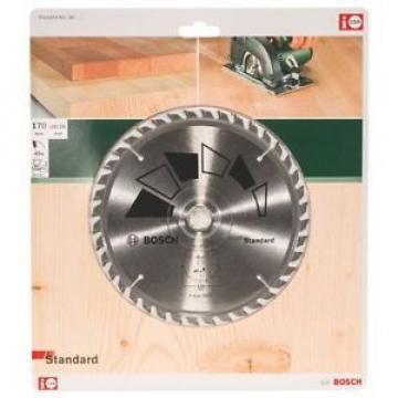 Bosch 2609256813 - Lama standard per sega circolare, 40 denti, carburo, taglio