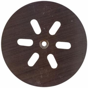 """BOSCH RS6045 6"""" Hook and Loop Soft Sanding Pad, 6-Hole"""