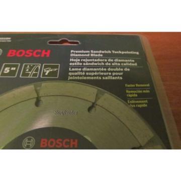 """Bosch DD510H 5"""" Premium Sandwich Tuckpointing Diamond Grinder Blade - New Sealed"""