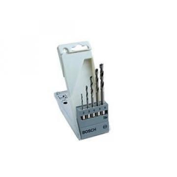 Bosch Zubehör 2608595525 - Set 5 punte per legno 2; 3; 4; 5; 6 mm