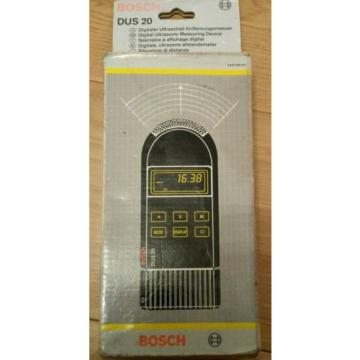BOSCH DUS 20 DIGITAL ULTRASONIC MEASURING DEVICE IN BOX