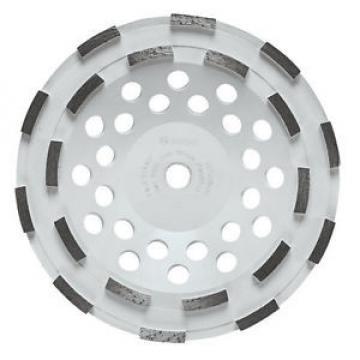 "Bosch 7"" Double Row Diamond Cup Wheel DC710H New"
