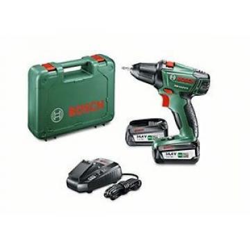 Tg 2 Batterie| Bosch PSR 14.4 LI-2 Trapano Avvitatore, 2 Batterie al Litio