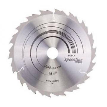Bosch - Lama per sega circolare, 235 x 18 mm, 18 denti