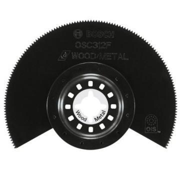 Bosch OSC312F 3-1/2-inch x 7/8-inch Bi-Metal Wood/Metal Flush Cut Blade, 10-Pack