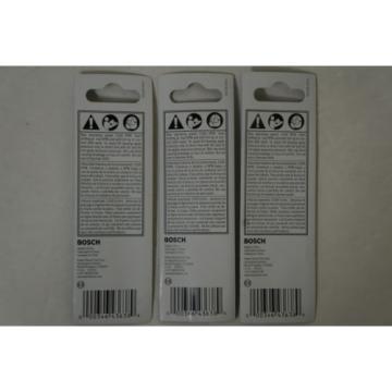 (3 Pack) Bosch BM2004 7/32 in. x 2 in. x 4 in. Carbide Fast Spiral Masonry Bit