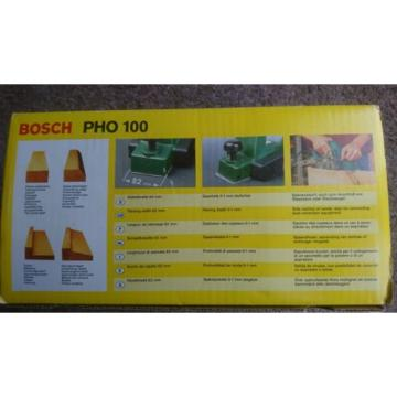 Bosch electric planer PHO - 100 Brand new sealed unopened box. Diy tool woodwork
