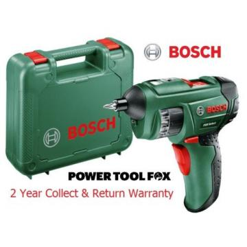 new Bosch PSR 3.6V Select Cordless Screw Driver 0603977070 3165140644112