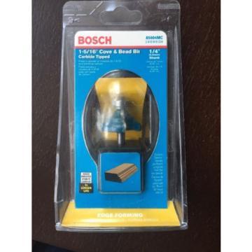 Bosch 85604MC ROUTER BIT COVE & BEAD 1/4-IN SHANK