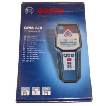 Bosch GMS120 multi detector cable wire joists stud metal scanner locator New