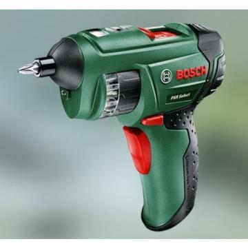 New Bosch 3.6V 1.5Ah Li-Ion PSR Select Cordless Screwdriver Power Tool