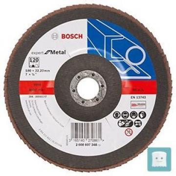 BOSCH 2608607348 - DISCO AD ALETTE DI 22-23 MM, 120 U/MIN, CONFEZIONE DA 10, ...
