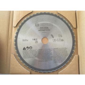 NEW Bosch 9-Inch 48T Steel Cutting Precision Series Saw Metal Cut Blade PRO948ST