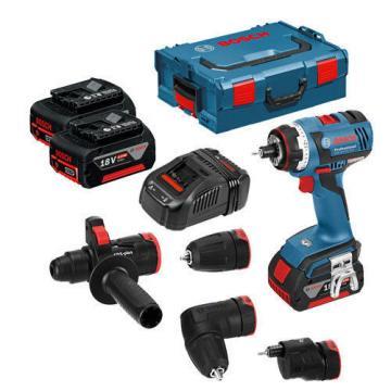 Bosch cordless drill GSR 18 V-EC FC2 FlexiClick Set incl 2 x 5.0 Ah Batt NEW