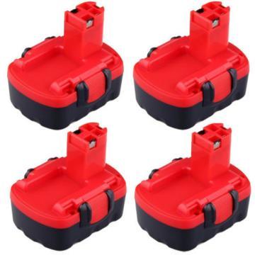 4x For Bosch 2.0AH 14.4V 2607335275 2607335465 2607335276 BAT038 BAT040 Battery